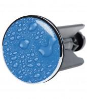 Stöpsel Tautropfen Blau