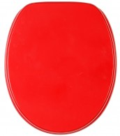 WC-Sitz Rot