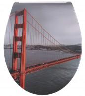 WC-Sitz mit Absenkautomatik Flat San Francisco