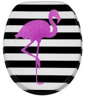 WC-Sitz mit Absenkautomatik Flamingo