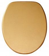 WC-Sitz Glitzer Gold