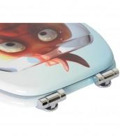 WC-Sitz mit Absenkautomatik Goldfisch