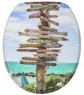 WC-Sitz mit Absenkautomatik Key West