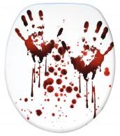 WC-Sitz mit Absenkautomatik Blood Hands