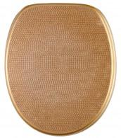 WC-Sitz mit Absenkautomatik Crystal Gold