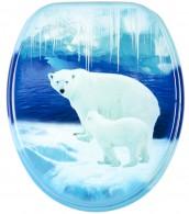 WC-Sitz Eisbären