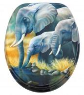 WC-Sitz Elefanten