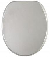 WC-Sitz mit Absenkautomatik Glitzer Silber