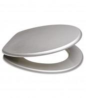 WC-Sitz Glitzer Silber