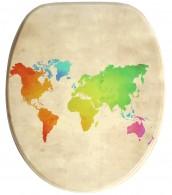 WC-Sitz mit Absenkautomatik International Map
