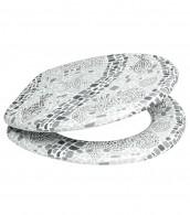 WC-Sitz Mosaic World Grey