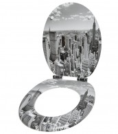 6-teiliges Badezimmer Set Skyline New York