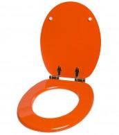 WC-Sitz mit Absenkautomatik Orange