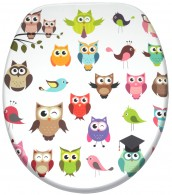 WC-Sitz mit Absenkautomatik Owl
