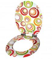 WC-Sitz mit Absenkautomatik Retro