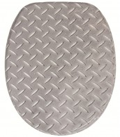 WC-Sitz mit Absenkautomatik Steel Plate