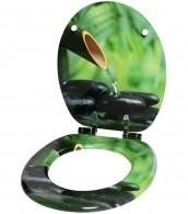 WC-Sitz mit Absenkautomatik Stone Garden
