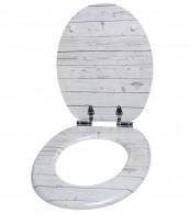 WC-Sitz mit Absenkautomatik Timber
