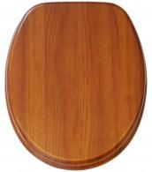 WC-Sitz Mahagoni