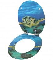 WC-Sitz mit Absenkautomatik Schildkröte