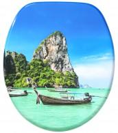 WC-Sitz mit Absenkautomatik Thailand