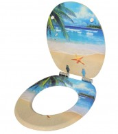 WC-Sitz mit Absenkautomatik Malibu