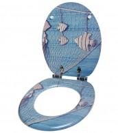 3-teiliges Badezimmer Set Seefahrt