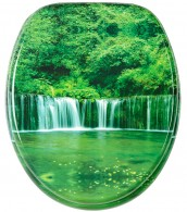 WC-Sitz Wasserfall