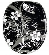 WC-Sitz White Flower