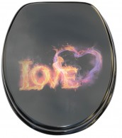 WC-Sitz mit Absenkautomatik Love