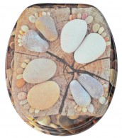 WC-Sitz Stone Feet
